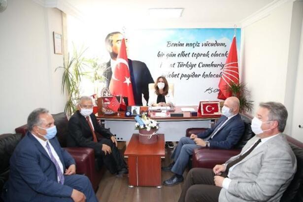 AK Partili belediye başkanlarından CHP, MHP ve İYİ Parti'ye ziyaret