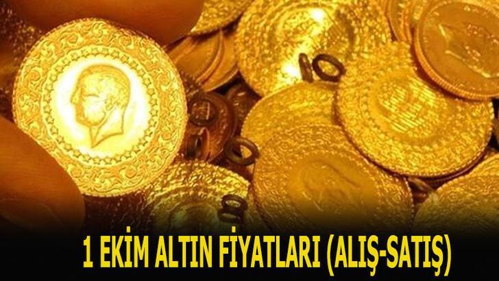 Altın fiyatları 1 Ekim canlı takip ekranı! Son dakika bugünkü gram, çeyrek, yarım ve tam altın alış-satış fiyatları ne kadar, kaç TL?