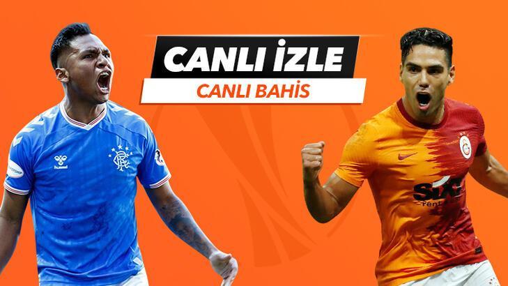 Rangers - Galatasaray maçı Tek Maç ve Canlı Bahis seçenekleriyle Misli.com'da
