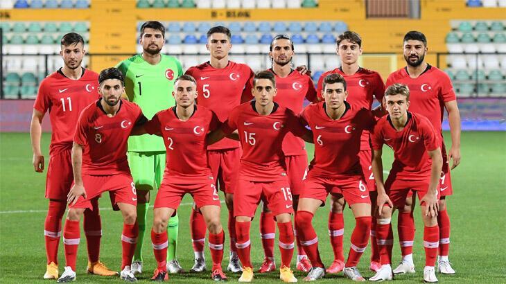 Ümit Milli Futbol Takımı'nın İngiltere maçı aday kadrosu açıklandı