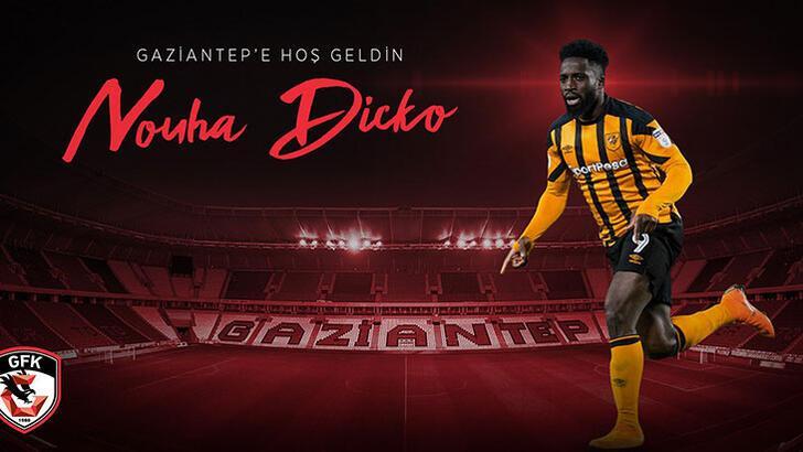 Gaziantep Malili golcü Nouha Dicko'yu transfer etti!