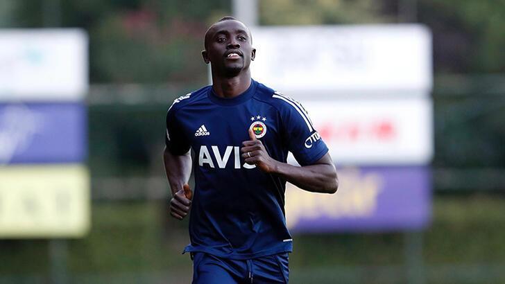 Fenerbahçe'de yeni transfer Cisse antrenmana çıktı!