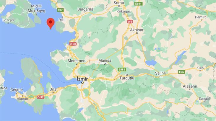 Son dakika... İzmir'de 3. 6 büyüklüğünde deprem