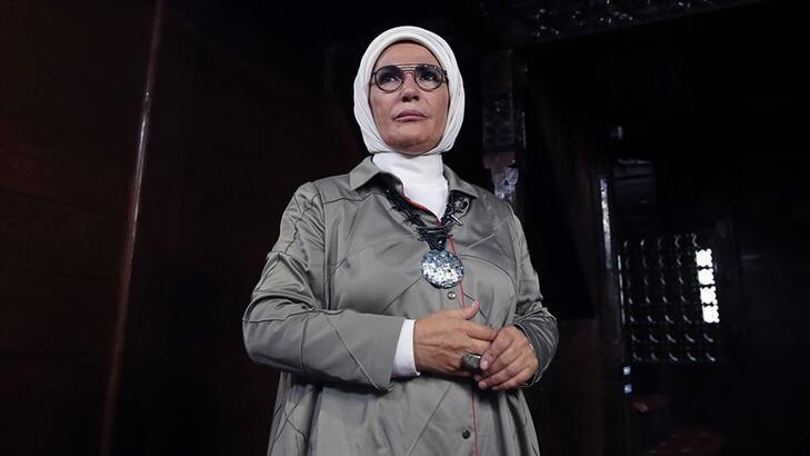 Emine Erdoğan, Hatay Valiliği'ni tebrik etti