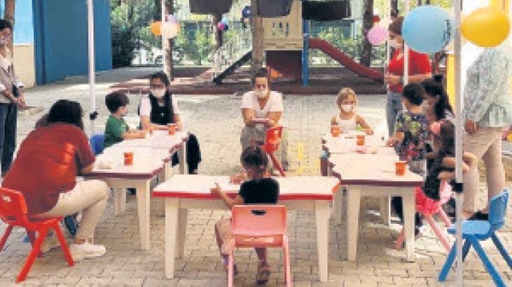 Karşıyakalı miniklere açıkhavada eğitim
