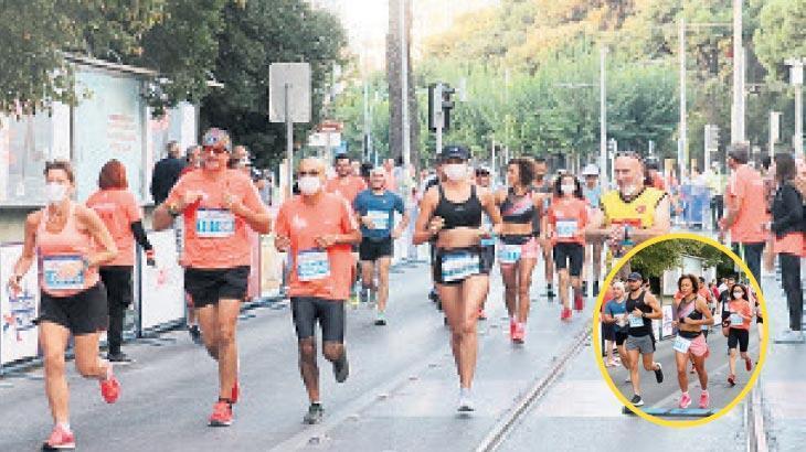 İzmİr, İlk maratonunu gururla tamamladı