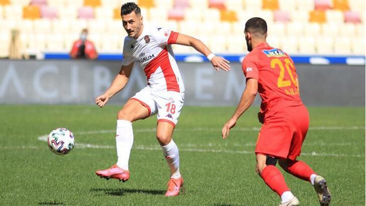 Antalyaspor'un dış sahadaki yenilmezlik serisi sona erdi