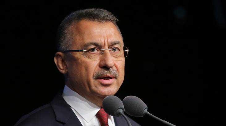 Cumhurbaşkanı Yardımcısı Oktay'dan 'Maraş' mesajı