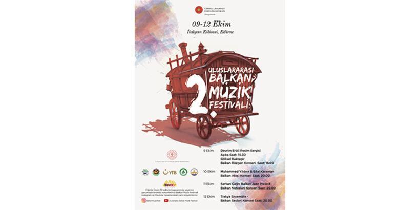2. Uluslararası Balkan Müzik Festivali başlıyor