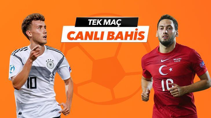 Almanya - Türkiye maçı Tek Maç ve Canlı Bahis seçenekleriyle Misli.com'da