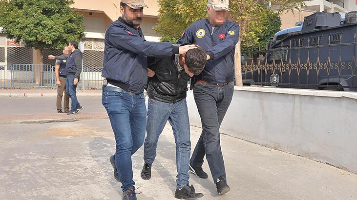 Mersin'de yakalanan DEAŞ'lının evinde ele geçirildi