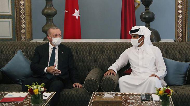 Erdoğan'ın ziyareti Katar basınında büyük yankı uyandırdı! 'Stratejik ortaklık'