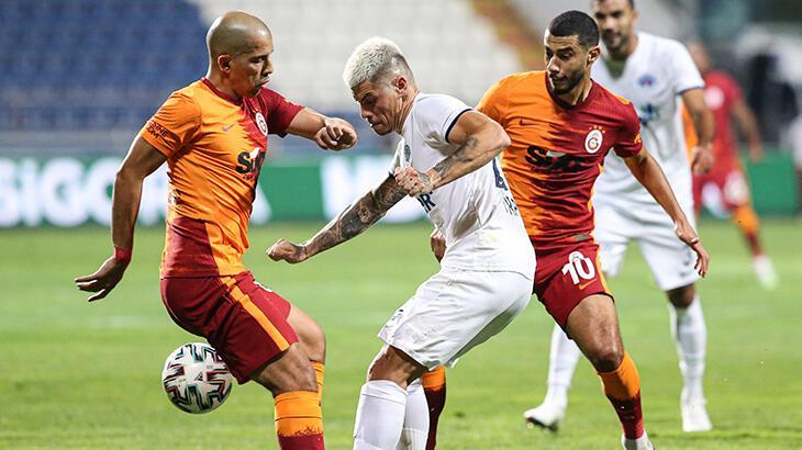 Galatasaray'da yüzde 15'lik indirim talebini kabul etmeyen iki isim Belhanda ve Feghouli