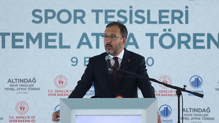 """Bakan Kasapoğlu: """"Ankaramız sporun da başkenti olacak"""""""
