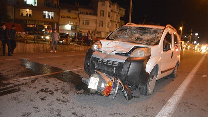 Kütahya'da trafik kazası: 1 ölü, 2 yaralı