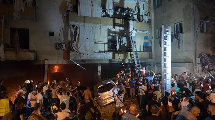 Beyrut'ta patlama! 4 kişi hayatını kaybetti