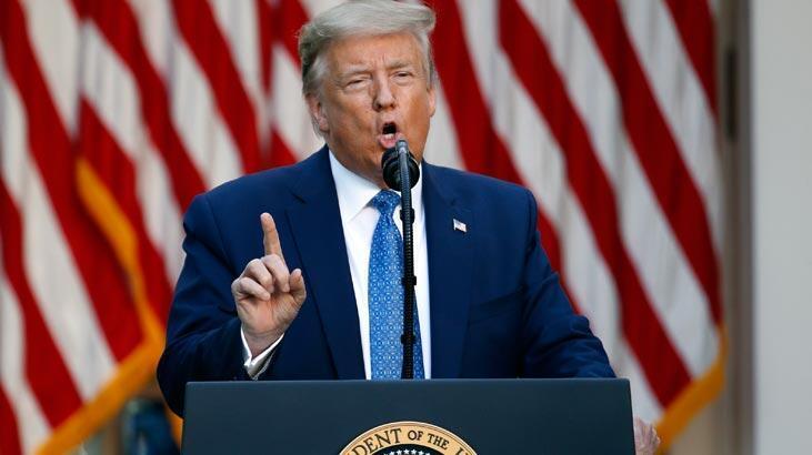 Trump 'Son Dakika Haberi' diyerek duyurdu