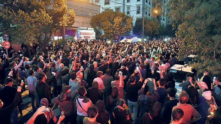 Cenazede üzüntü ve protesto