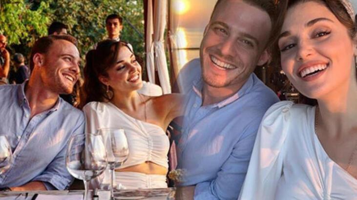 Hande Erçel ve Kerem Bürsin'den evlilik sorusuna şaşırtan cevap