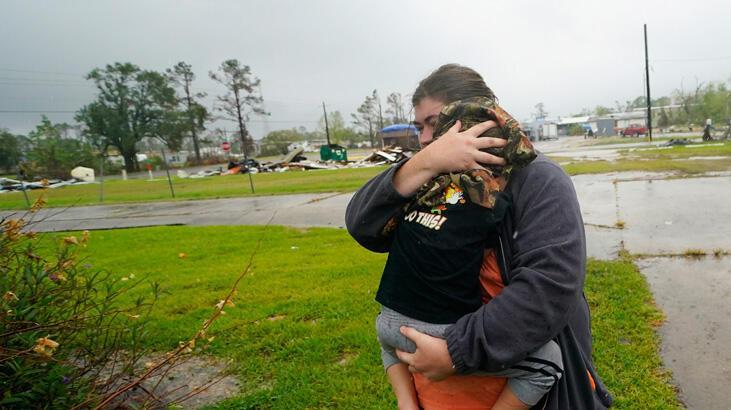 Delta Kasırgası Louisiana'yı vuruyor