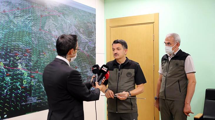 Bakan Pakdemirli'den Hatay'daki orman yangınında sabotaj iddialarına açıklama