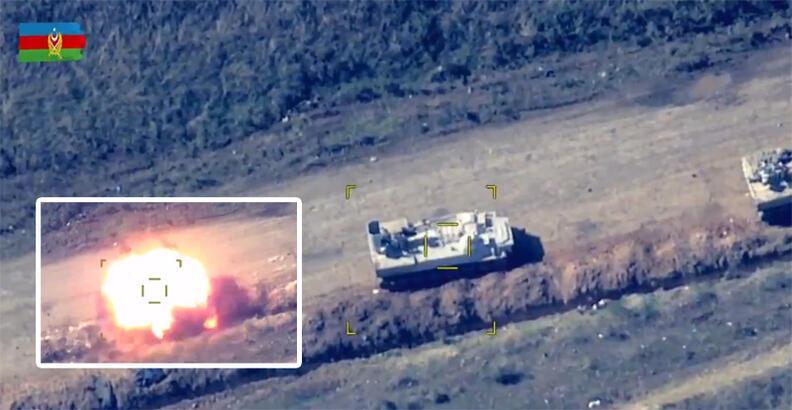 Ermenistan ateşkesi bozdu, Azerbaycan anında vurdu