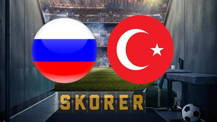 Rusya-Türkiye maçı ne zaman saat kaçta hangi kanalda? Tarihteki 7. karşılaşma...