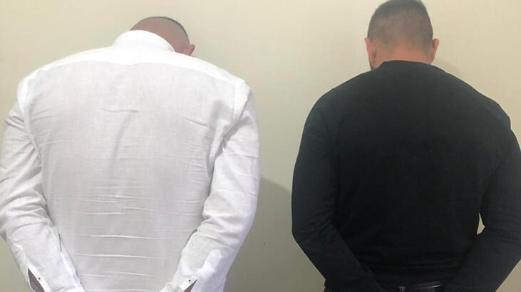 Güzellik merkezi işletmecisine zorla senet imzalatmışlardı... Tutuklandılar