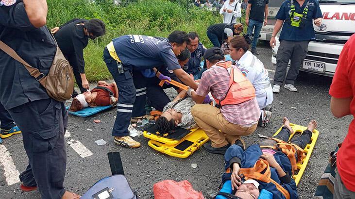Tayland'da katliam gibi kaza: 17 ölü, en az 30 yaralı