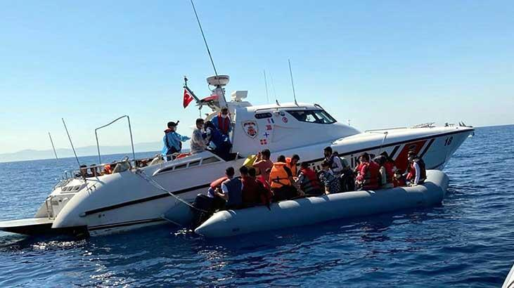 Ege'de 10 ayda, 16 bin 869 kaçak göçmen yakalandı