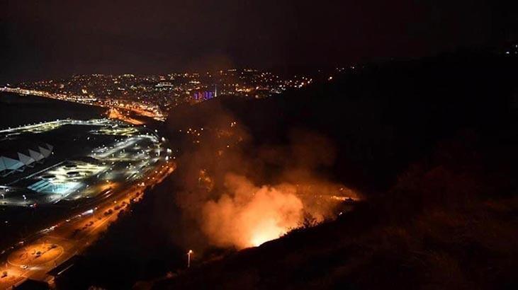 Trabzon'da son 48 saatte 35 farklı noktada yangın