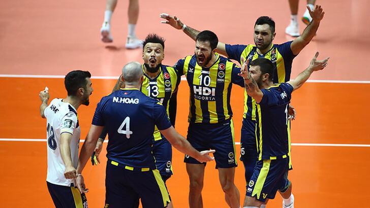 Fenerbahçe HDI Sigorta - Arkas Spor: 3-0