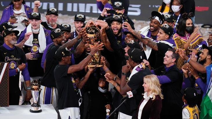 Son dakika... NBA'de Los Angeles Lakers şampiyon oldu