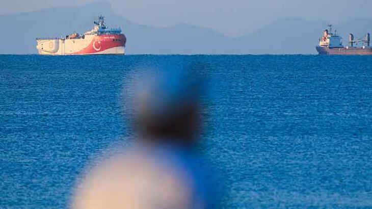 Oruç reis Antalya Limanı'ndan ayrıldı!