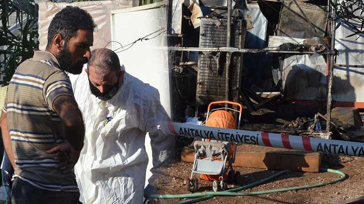 Antalya'da 6 aylık bebeğin feci ölümü