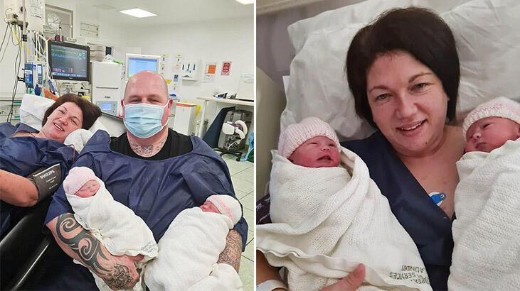Hamileyken koronavirüse yakalanan anne komada ikiz doğurdu