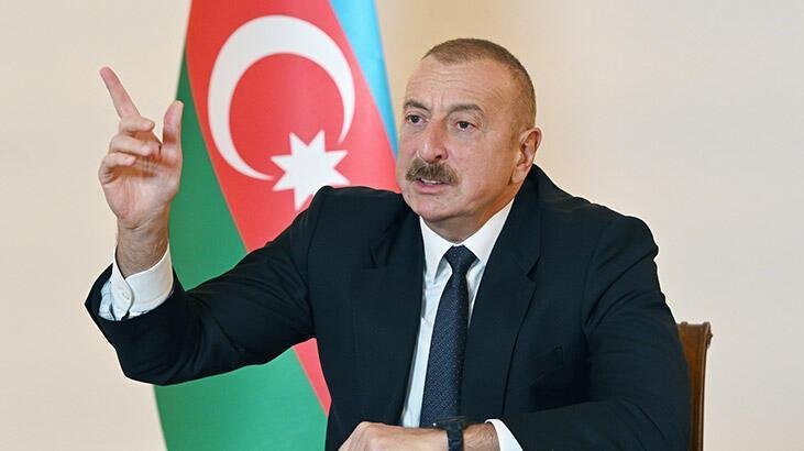 Son dakika...Aliyev: Ermenistan'ın özel komandoları yok edildi!