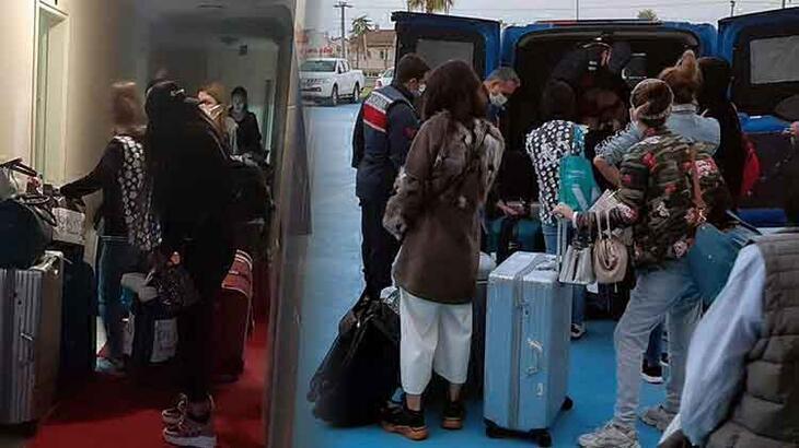 Tekirdağ'da fuhuş operasyonu! 36 kişi gözaltına alındı