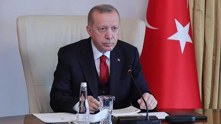 Cumhurbaşkanı Erdoğan Vahdettin Köşkü'ne geçti