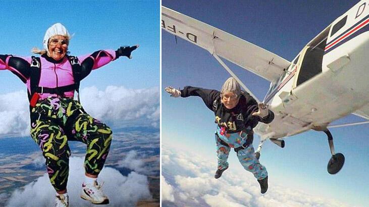 Paraşütle atlayan en yaşlı kişi hayatını kaybetti