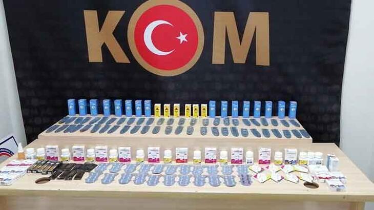 Denizli'de kaçak ürünleri piyasaya sürmeden yakalandılar!