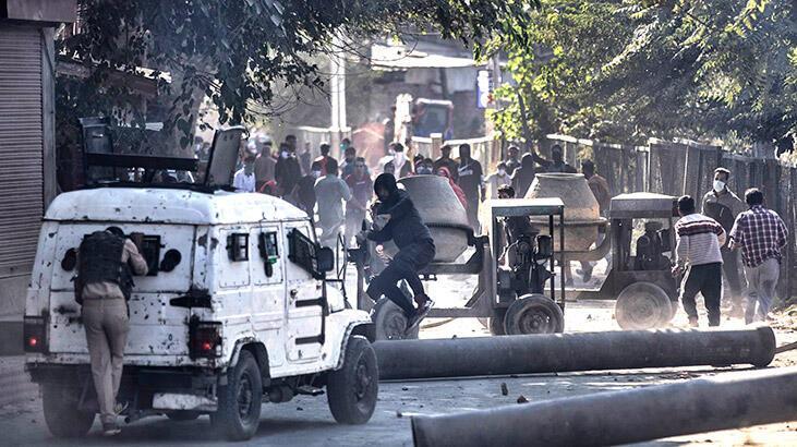 Hindistan'da çatışma: 2 ölü