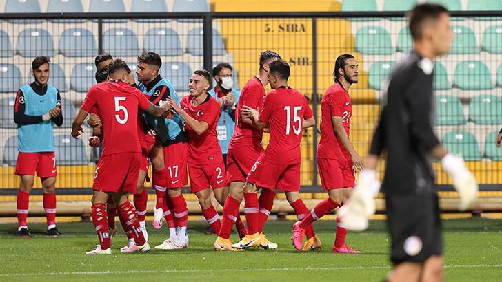 Ümit Milli Futbol Takımı, İngiltere karşısında!