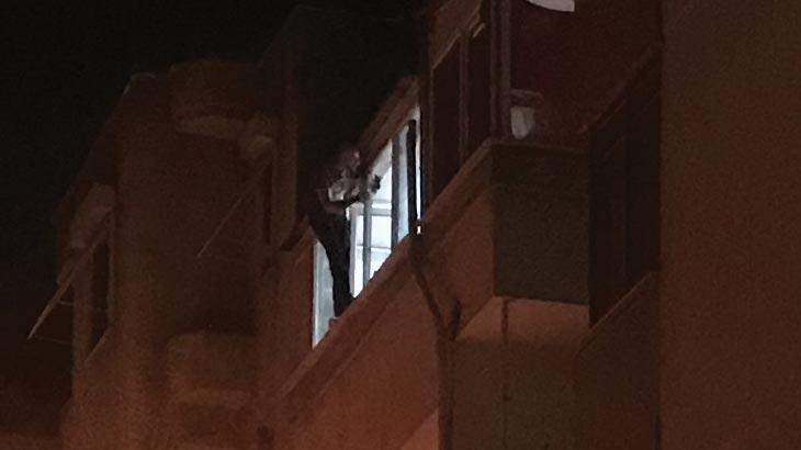 İzmir'de hareketli gece! 5 saat sonra ikna edildi