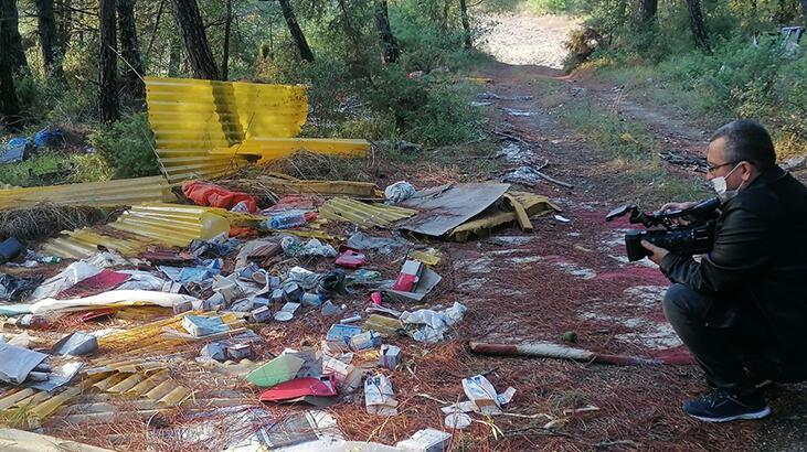 Bursa'da bir çevre katliamı! Çöplüğe çevirdiler