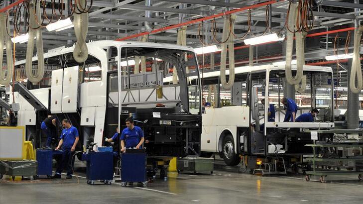 Otobüs, minibüs ve midibüs ihracatı üç çeyrekte 1 milyar doları aştı