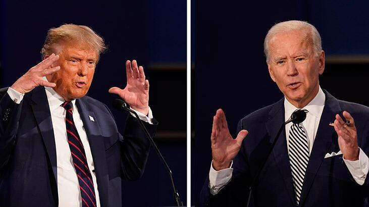 ABD'de Biden Trump'ın 10 puan önünde