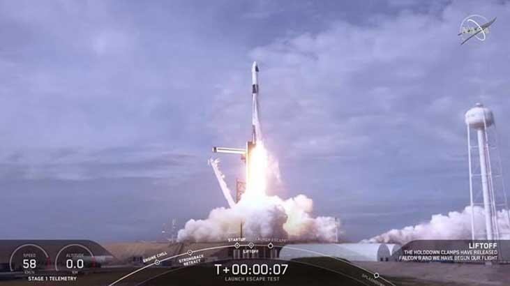 SpaceX ve Pentagon'dan ortak proje!