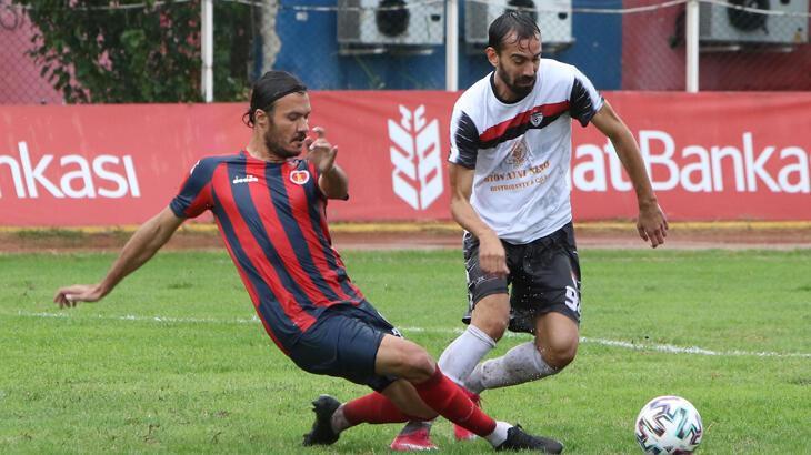 Ziraat Türkiye Kupası'nda sezon 1. turda yapılan 3 maçla başladı