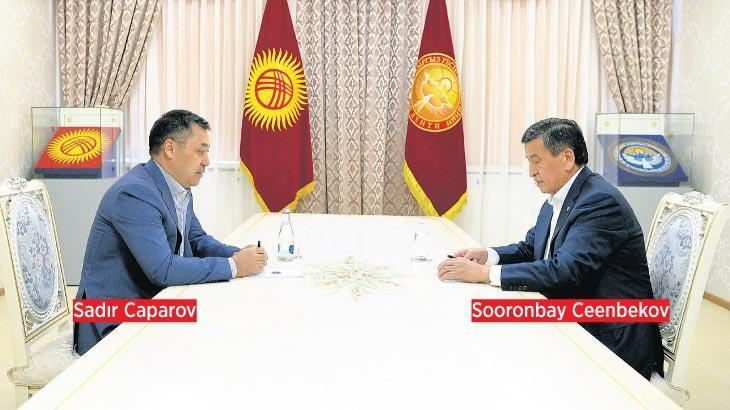 Ceenbekov'dan Caparov'un başbakanlığına veto...